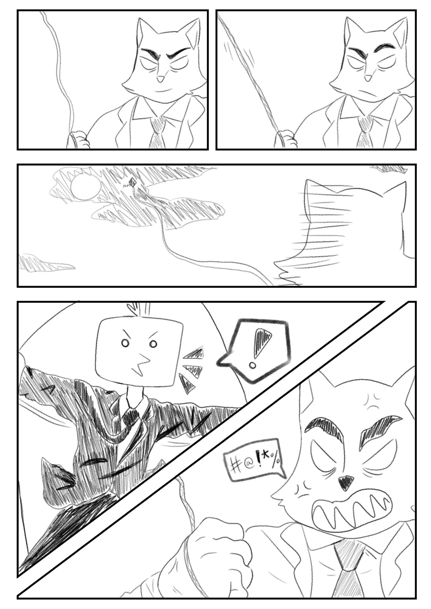 Copy of Agent Bird Fan comic by @OslekHarbour