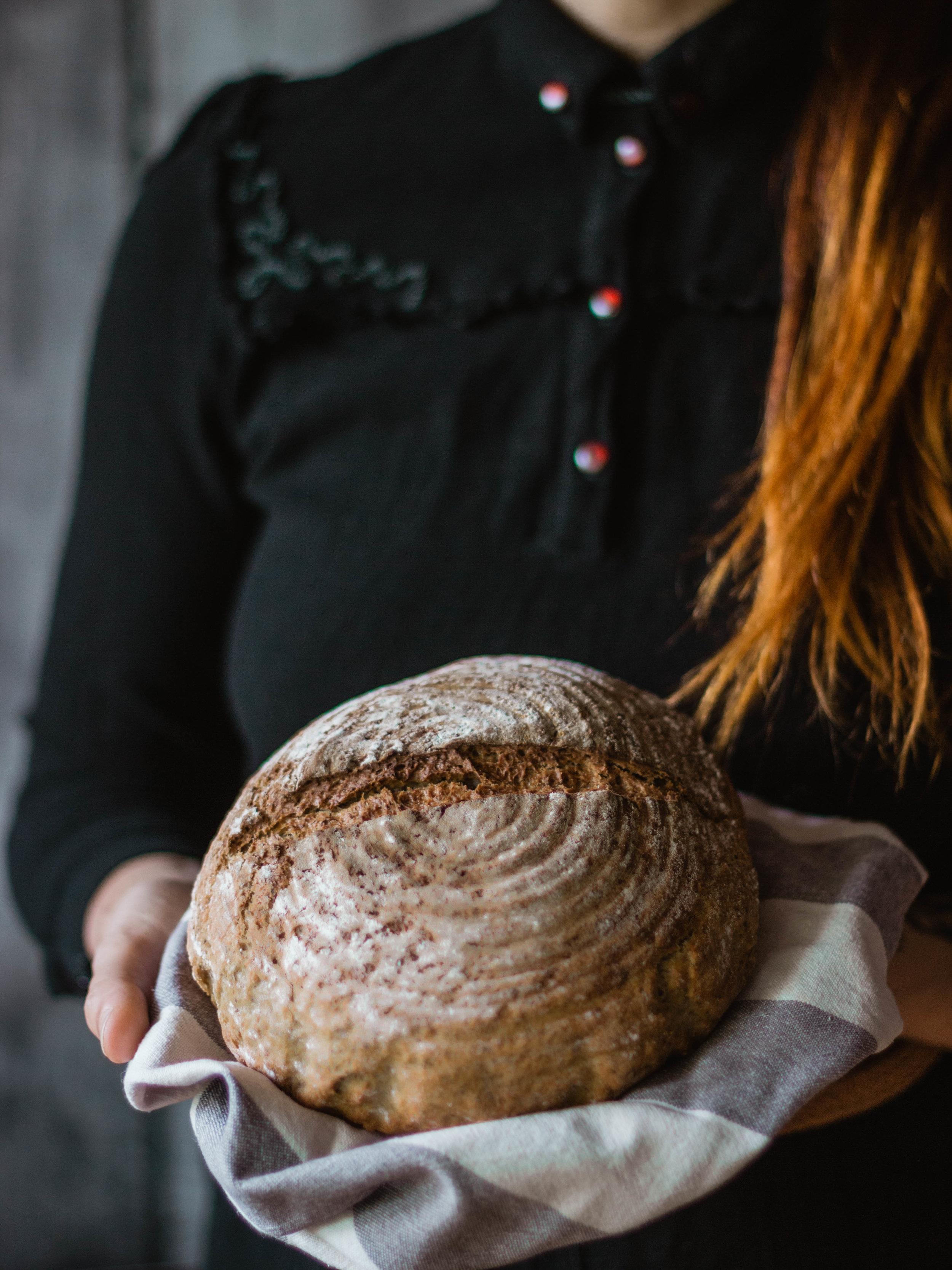 aumento di peso di burro di arachidi e pane