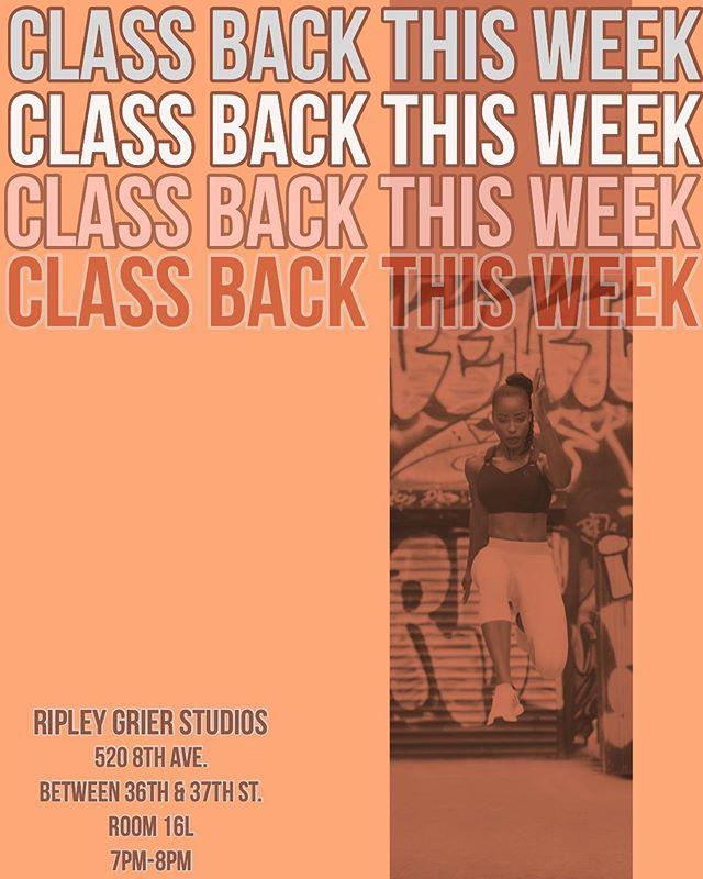 🗣TWERKAEROBICS CLASS IS BACK THIS WEEK! #ripleygrierstudios (2/20/19) 7pm-8pm!