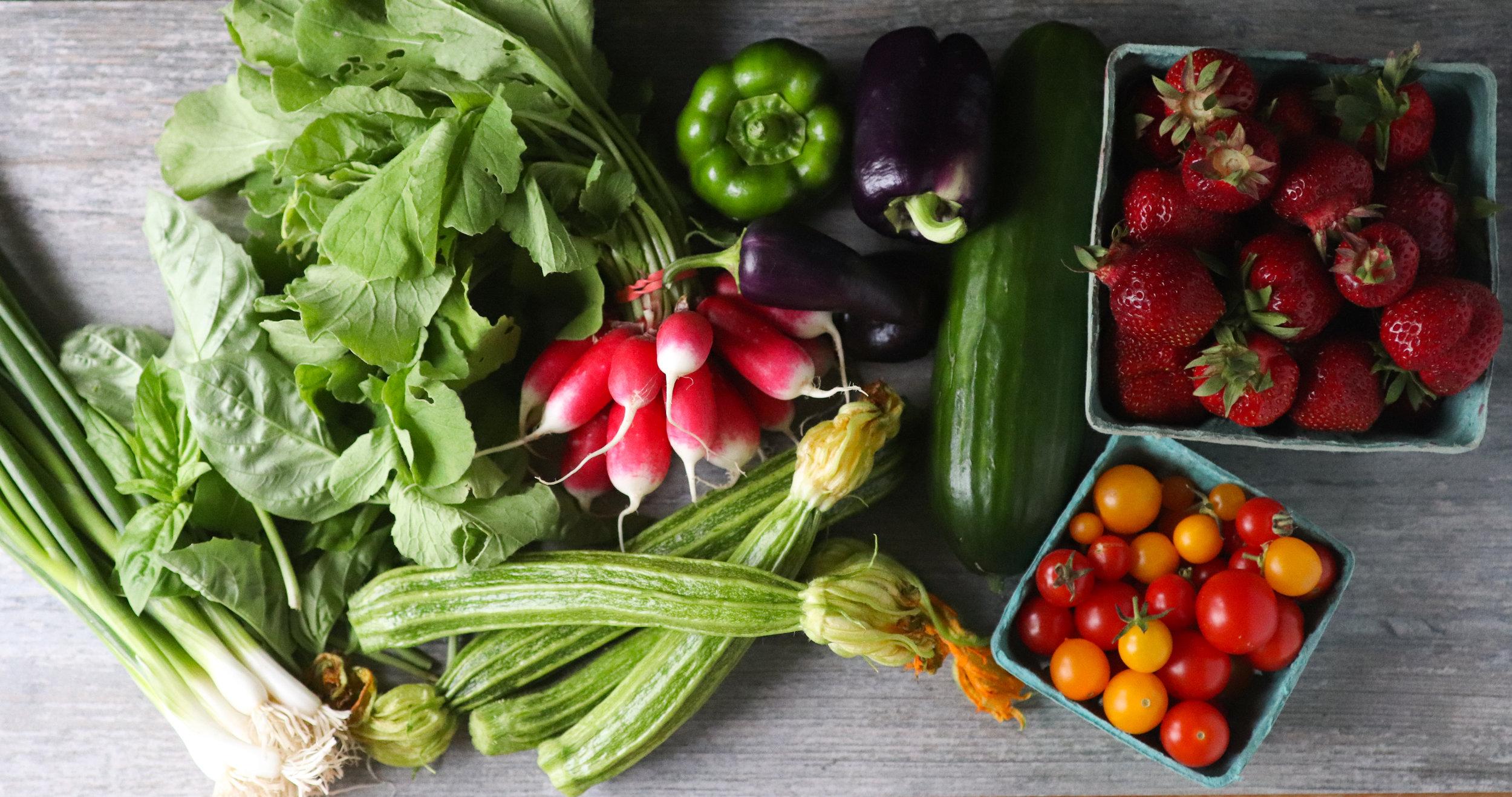 market haul, early summer, summer quinoa salad, tomatoes, vegan, gluten free, fresh, produce, summer