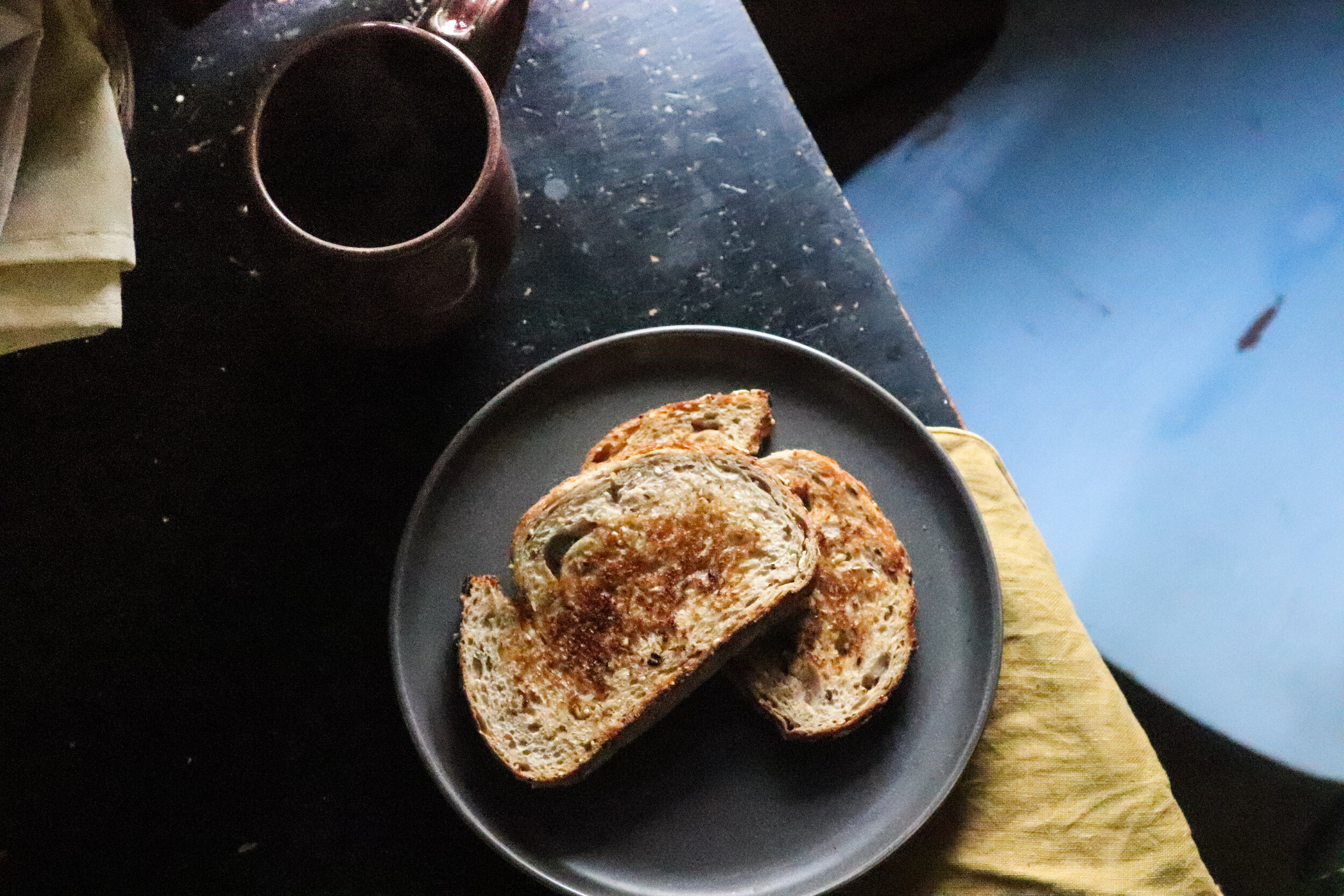 slow mornings, safe havens, dysfunctional home, adult child of an alocholic, toast, coffee, slow living