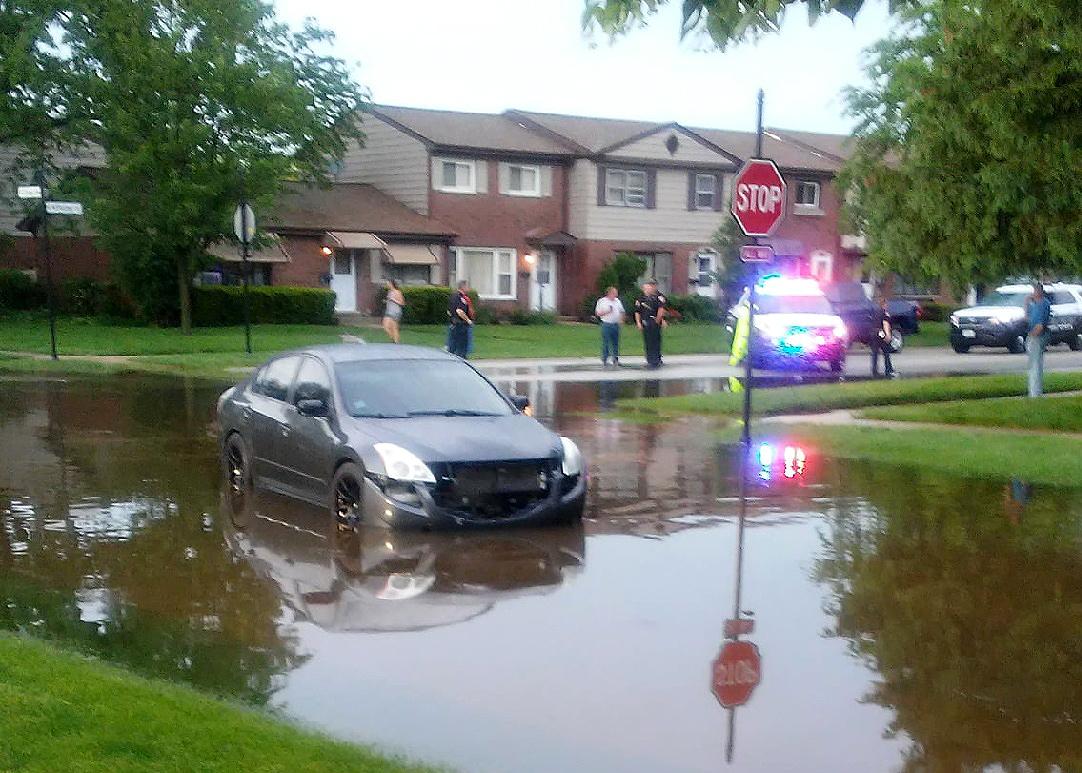 Wood Dale's Flooding -