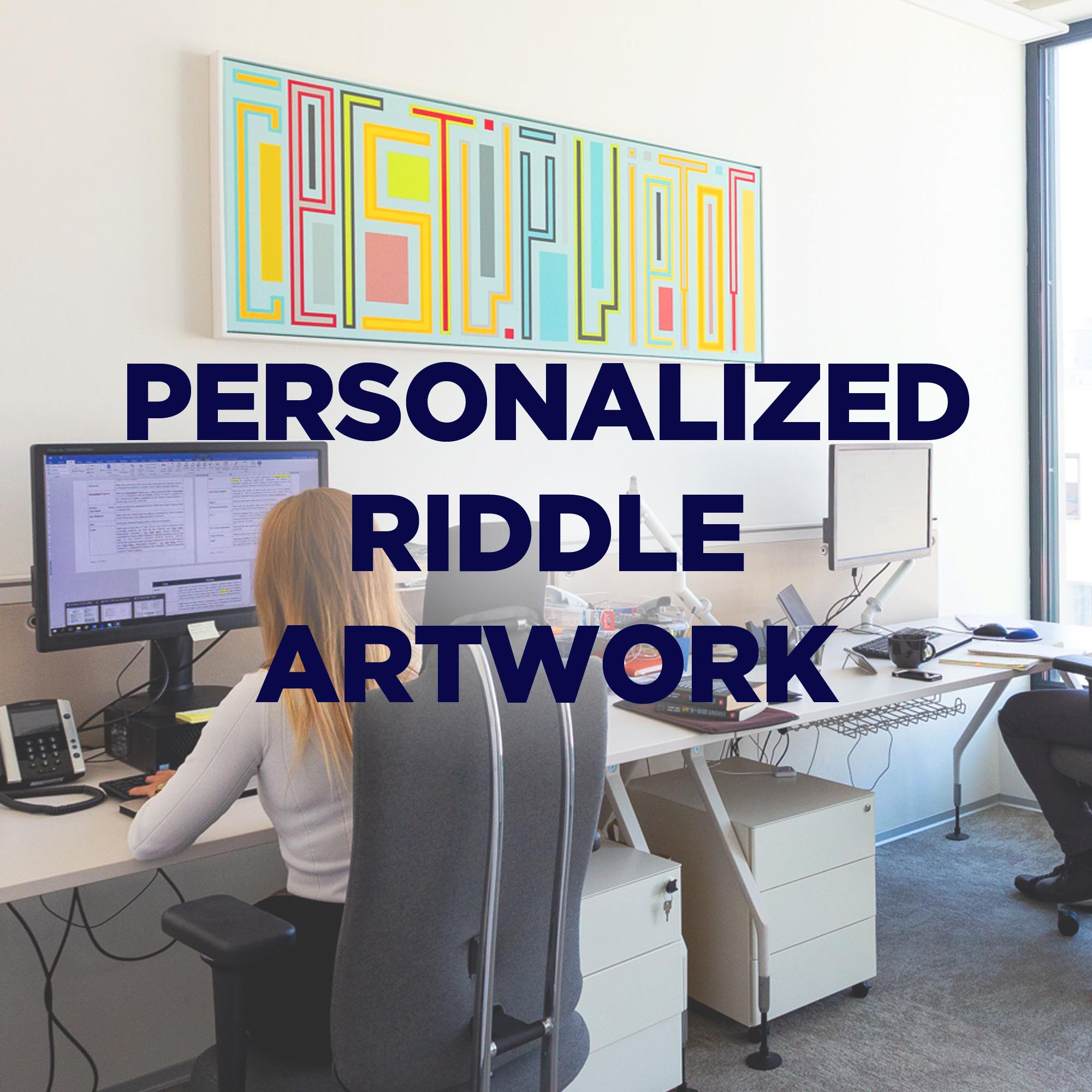 Personalized Riddle Artwork