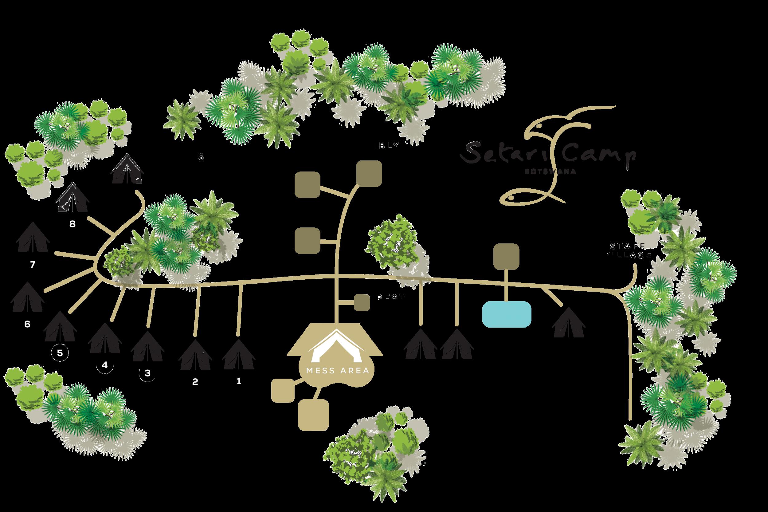Setari Camp Botswana Layout Map.jpg