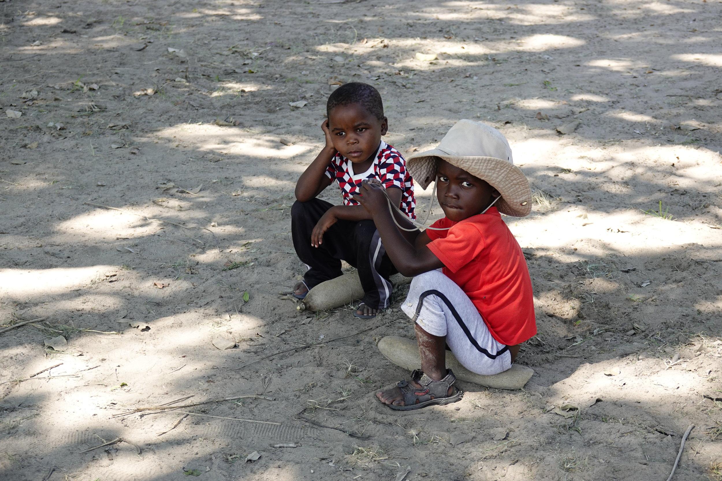 Setari Camp Botswana Children.JPG