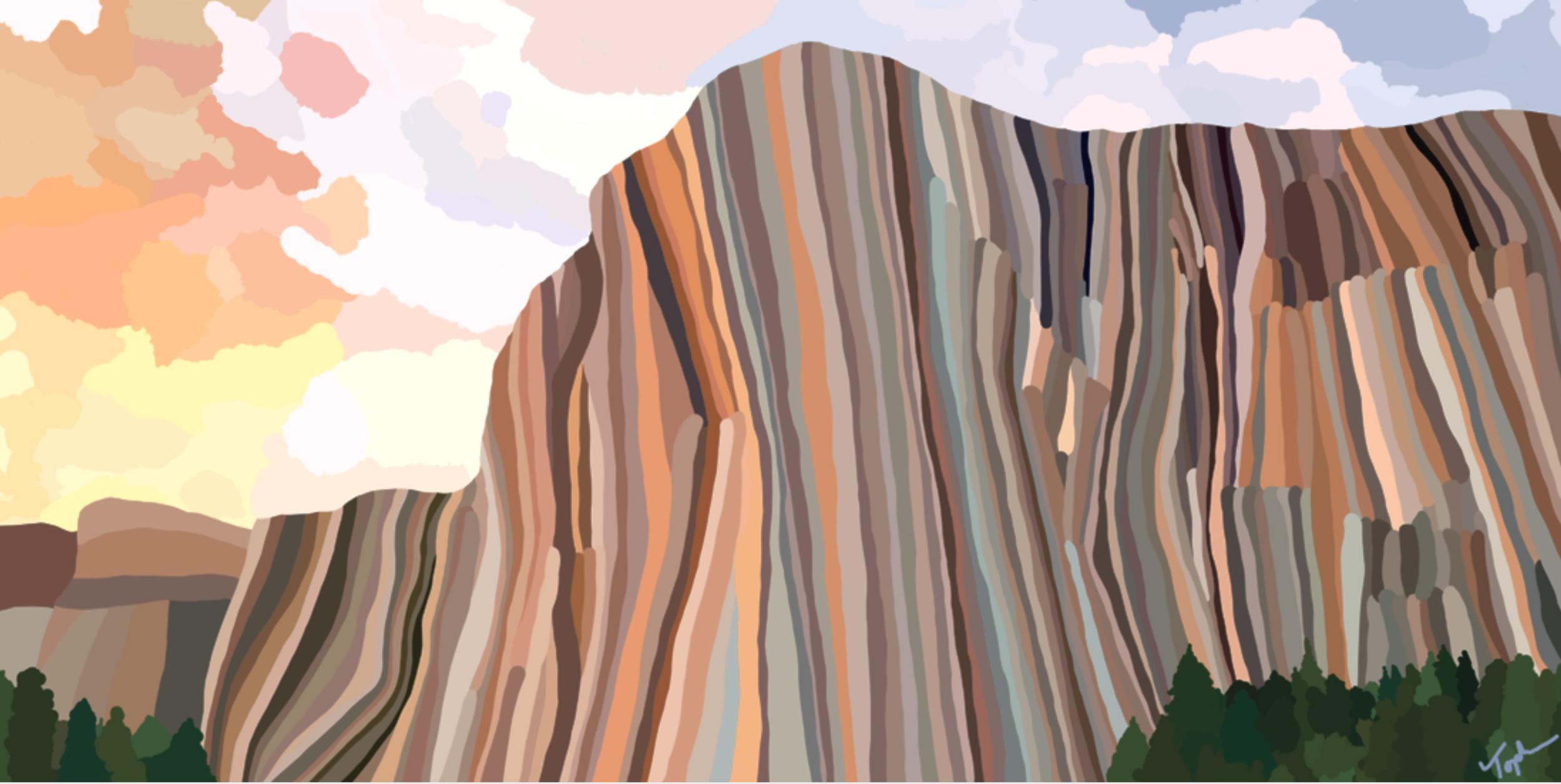Yosemite National Park  , 2019  Dye Sublimation on Aluminum   ORIGINAL   |   LIMITED EDITION   |  SOUVENIR