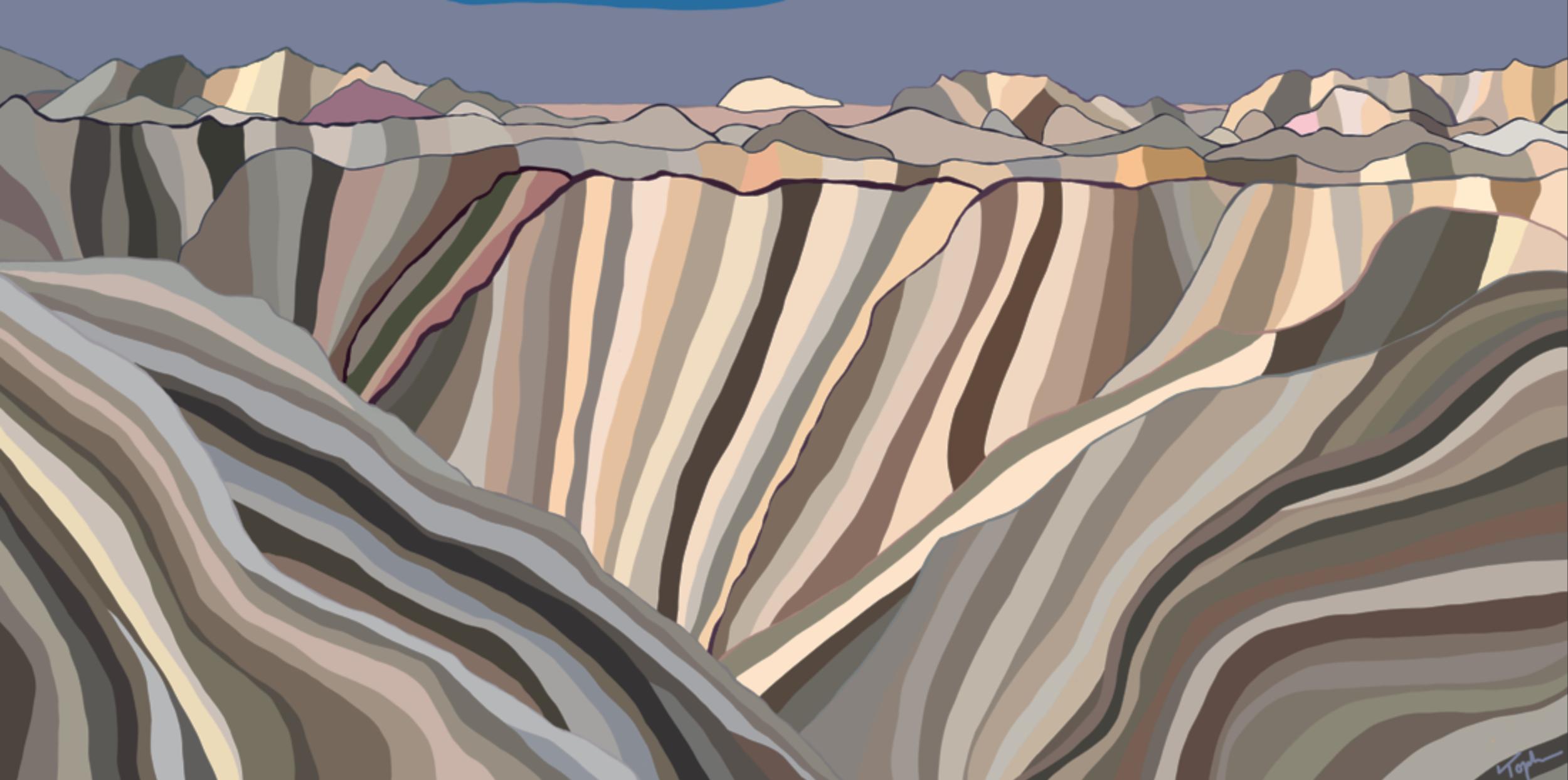 Black Canyon National Park  , 2019  Dye Sublimation on Aluminum   ORIGINAL   |   LIMITED EDITION   |  SOUVENIR