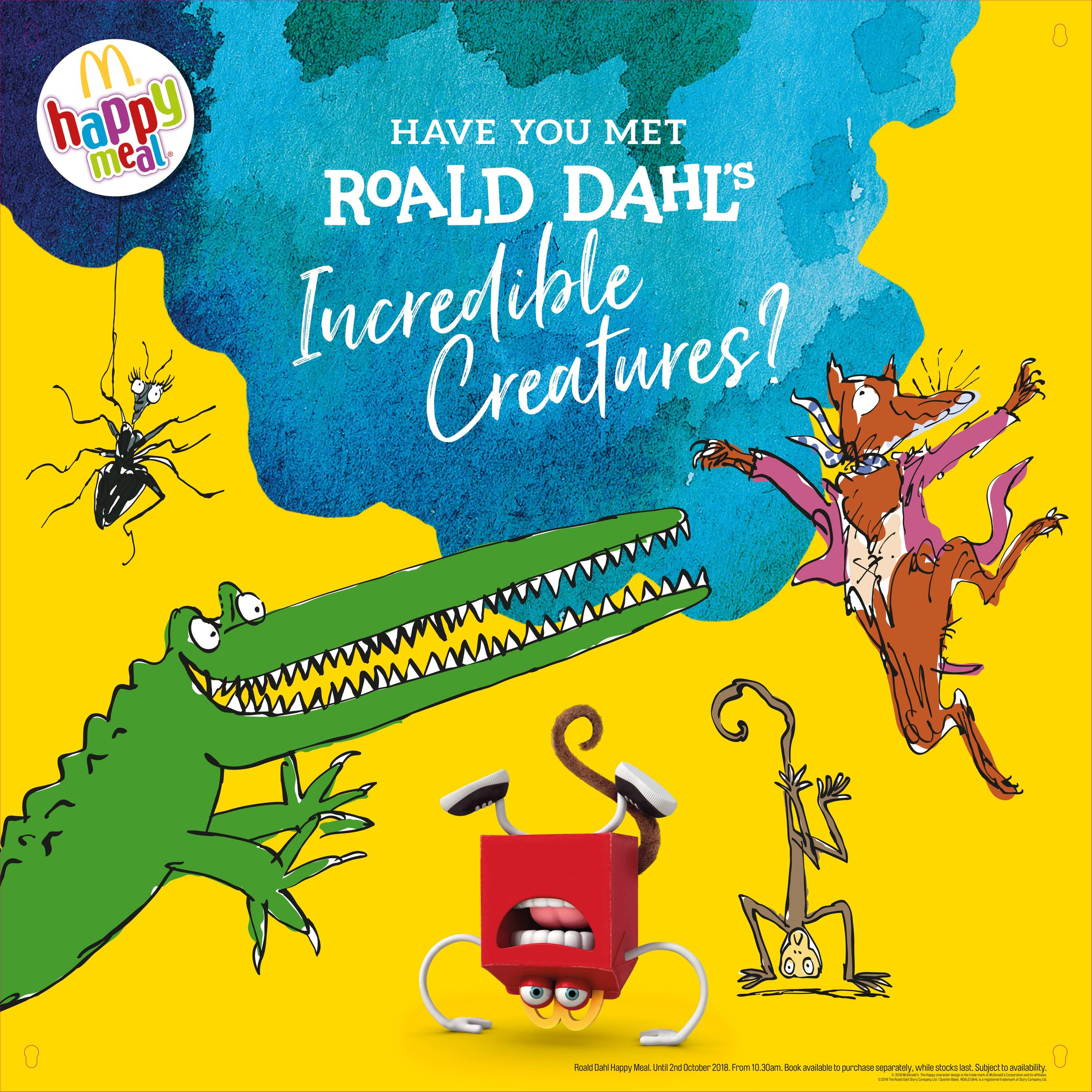 Click to see the Roald Dahl campaign