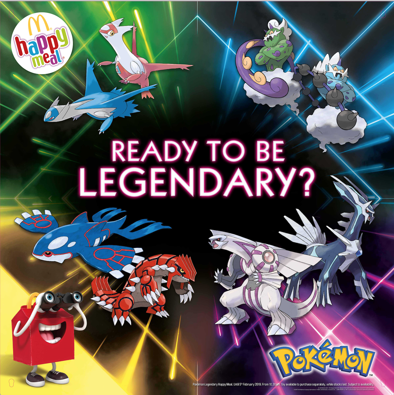 Click to see the Legendary Pokémon campaign