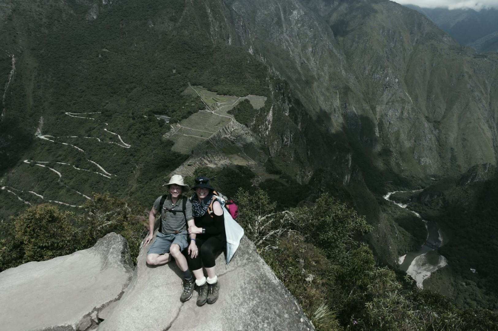 07 - Atop Huayna Picchu with Machu Picchu in the background.jpg