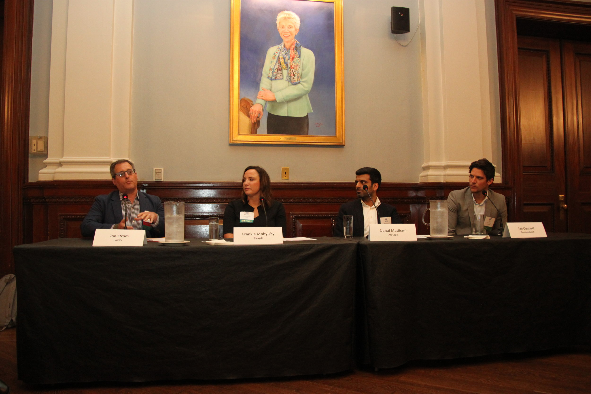 Connett P.C. joins packed New York City Bar panel discussing AI threats and opportunities on the legal sector.