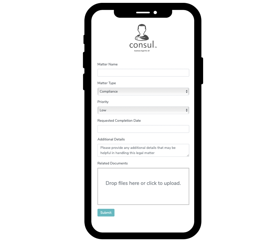 Faster Legal. - Submit and receive new matters instantly and painlessly. Get on demand support with Consul™ Chat and Quick Meetings. Collaborate on documents in a paperless cloud. No more redlines, email chains and costly billable hours.