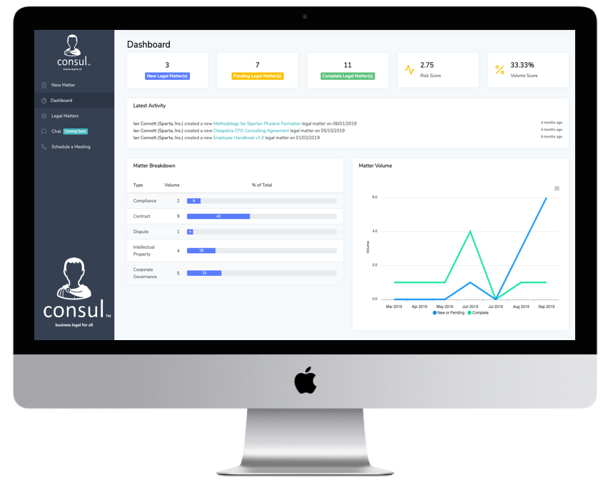 Meet Consul™ - An intelligent new platform to simplify legal and compliance operations,