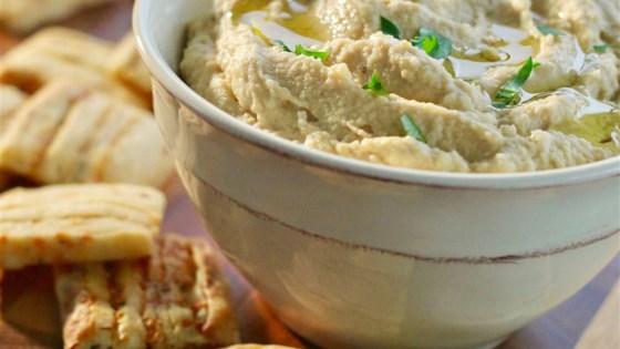 Garlic Parmesan Hummus - From All Recipeshttps://www.allrecipes.com/recipe/255534/garlic-parmesan-hummus/?internalSource=hub%20recipe&referringContentType=Search&clickId=cardslot%206