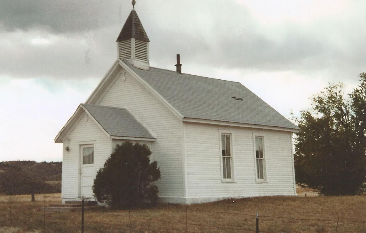 The church prior to the 2003 fire.