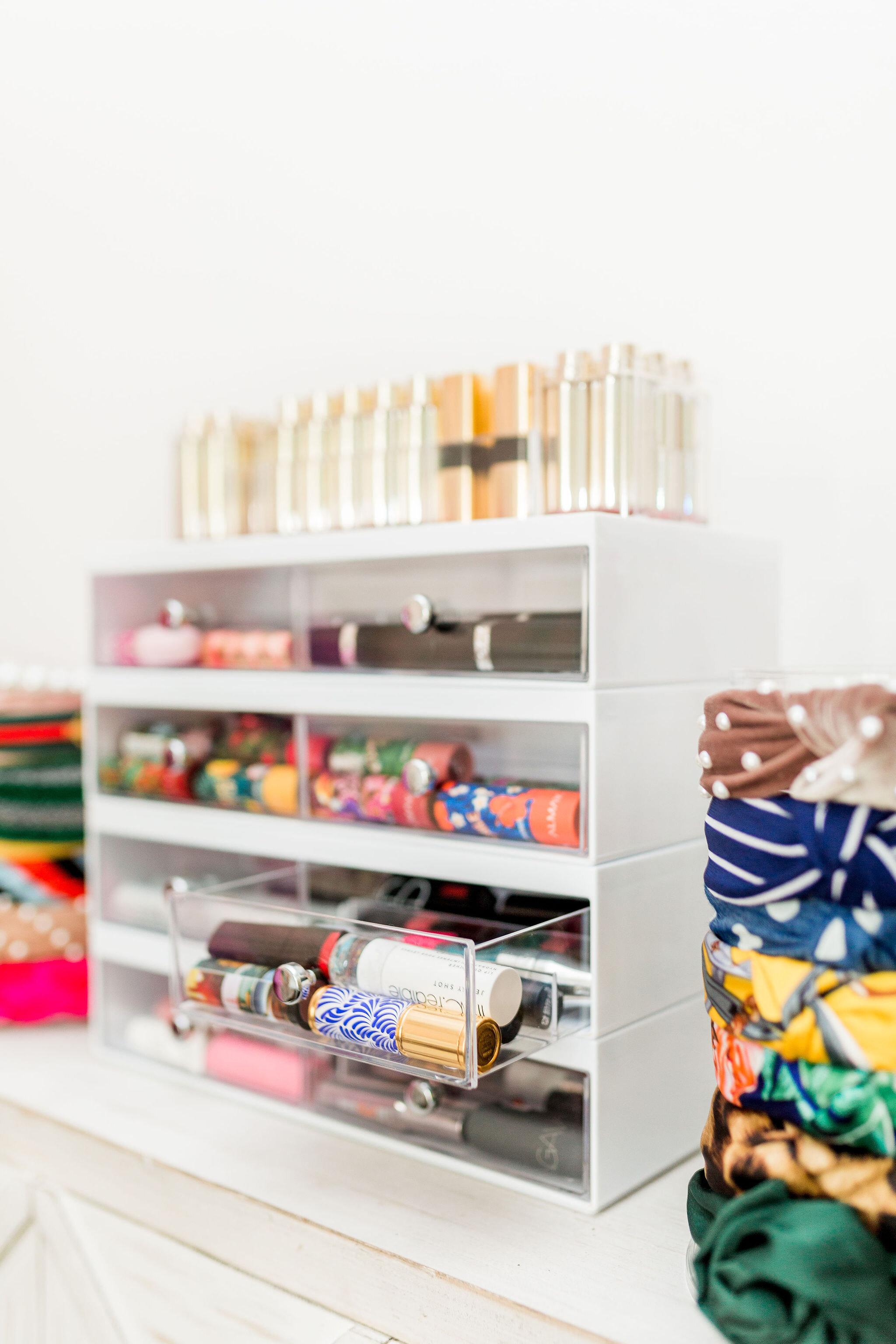 Lipstick Organizer - Makeup needs a beautiful home & storage solution