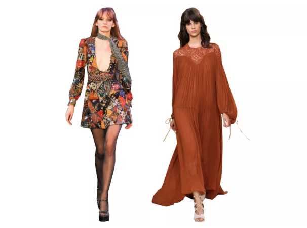 Hedi Slimane for Saint Laurent and Chloé SS15 (Vogue)