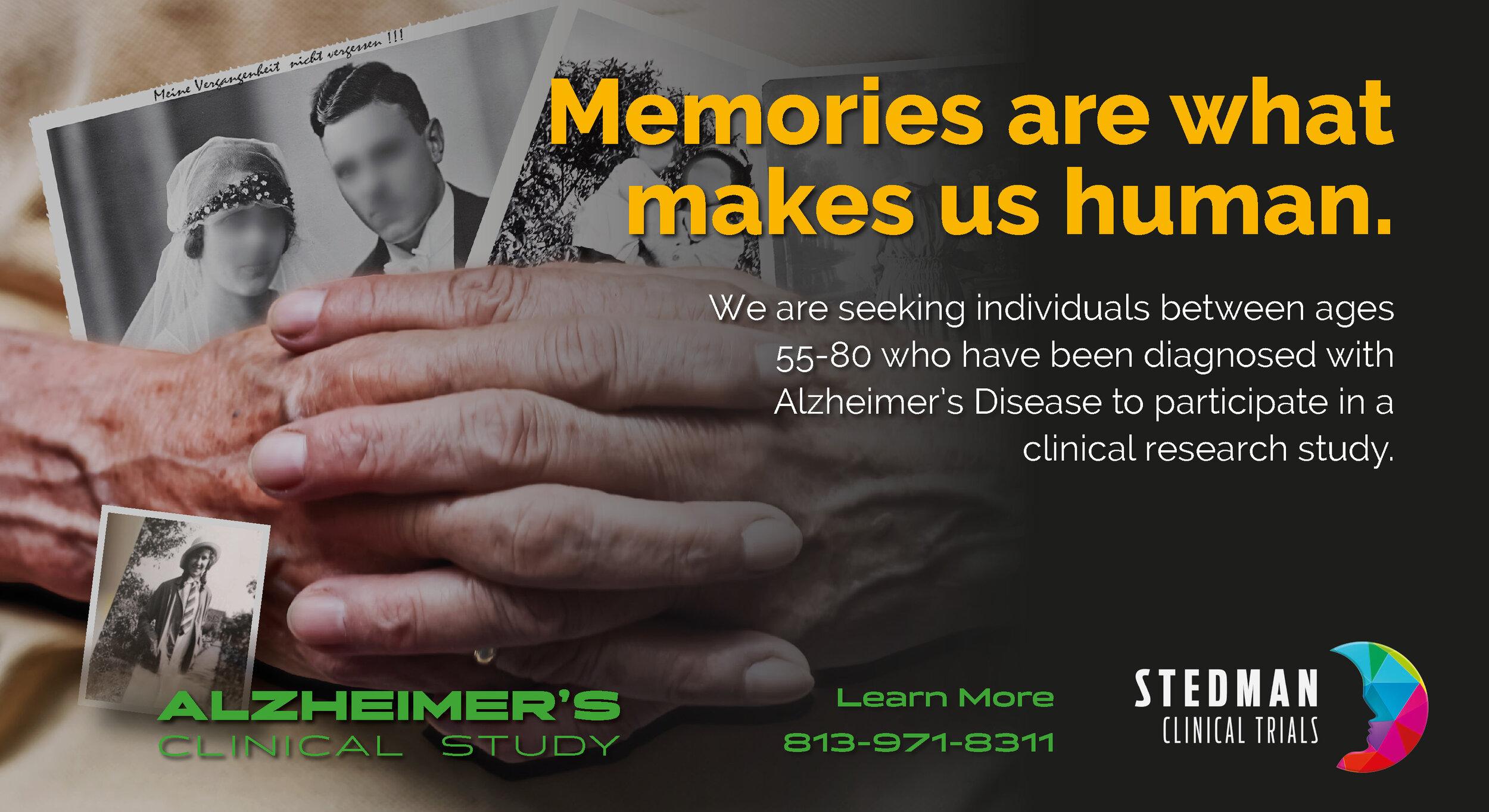 Alzheimer's Clinical Trial