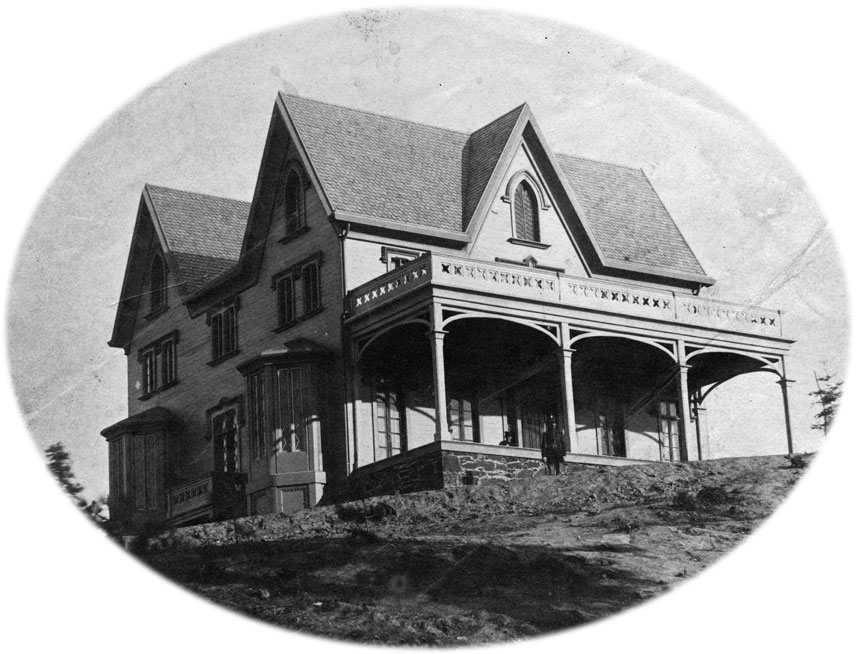 Colonel Wright's house was built for $22,000, a vast fortune in the 1800s. Wright was severely criticized by the government for building such an expensive structure.