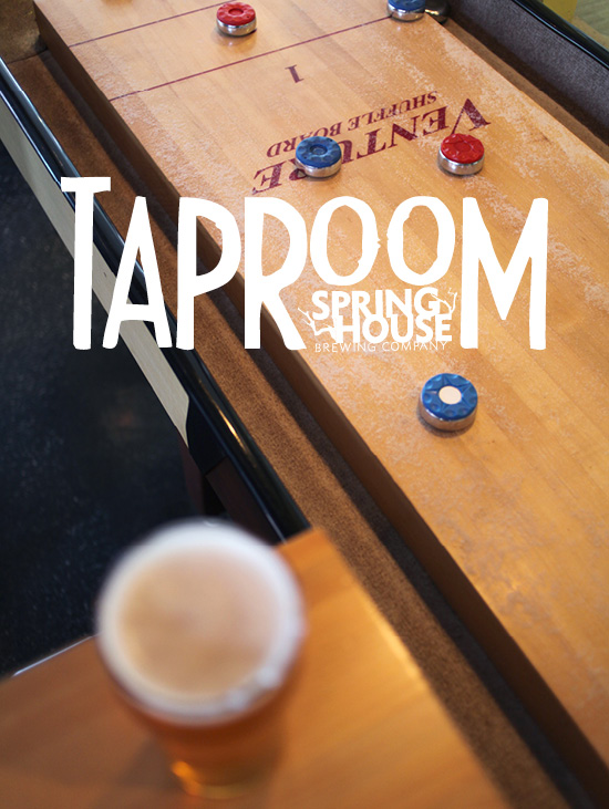The Taproom  opens in Downtown Lancaster featuring a steady supply of our beers, shuffleboard & Zoltar.