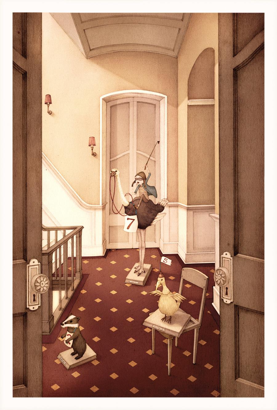 Nicholas Gannon / The Doldrums / The Ostrich