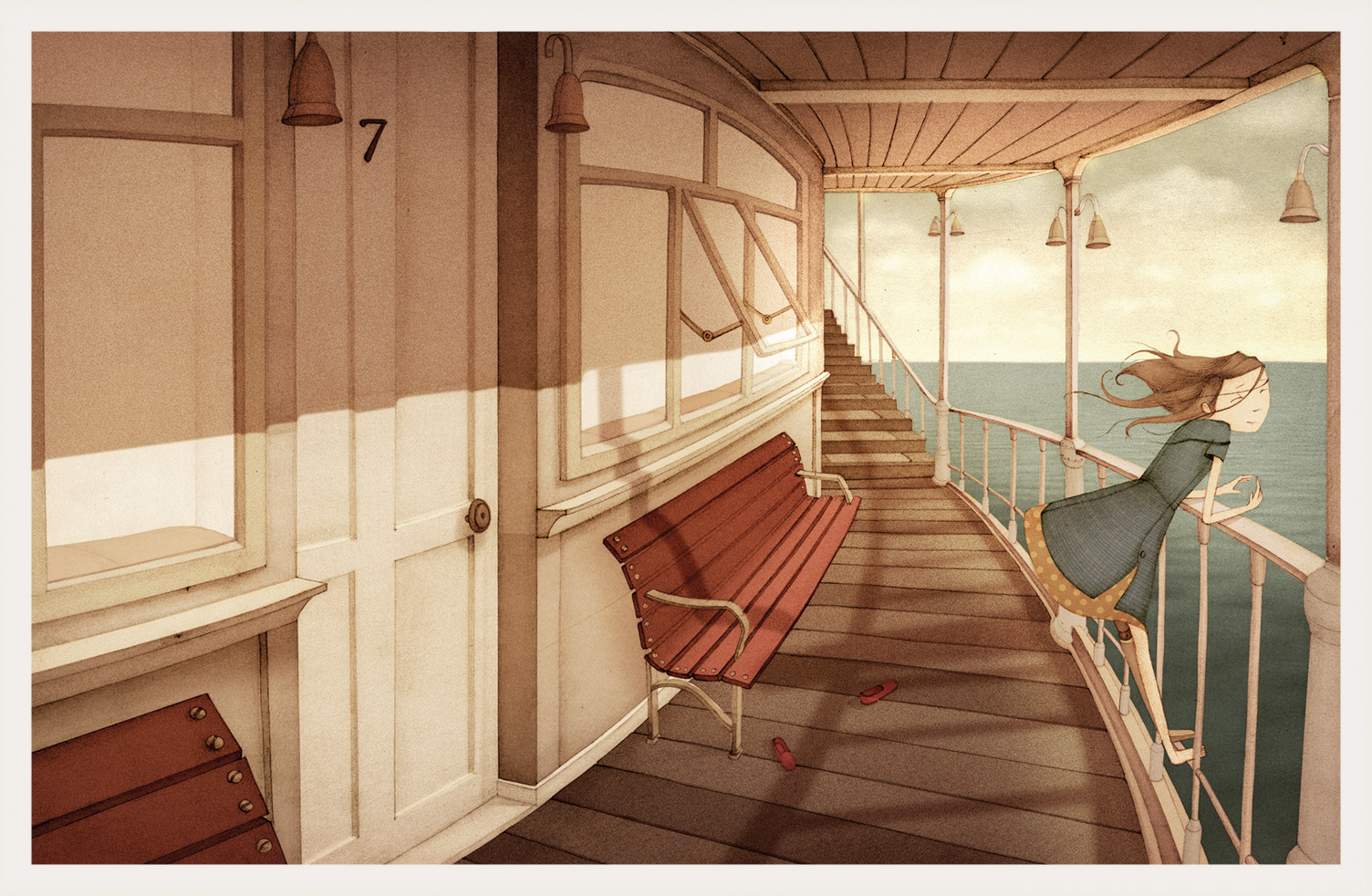 Nicholas Gannon / The Doldrums / Ocean Liner