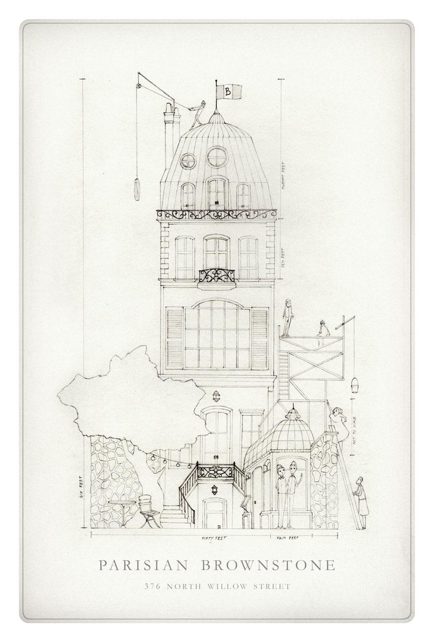 Nicholas Gannon / The Doldrums / Parisian Brownstone