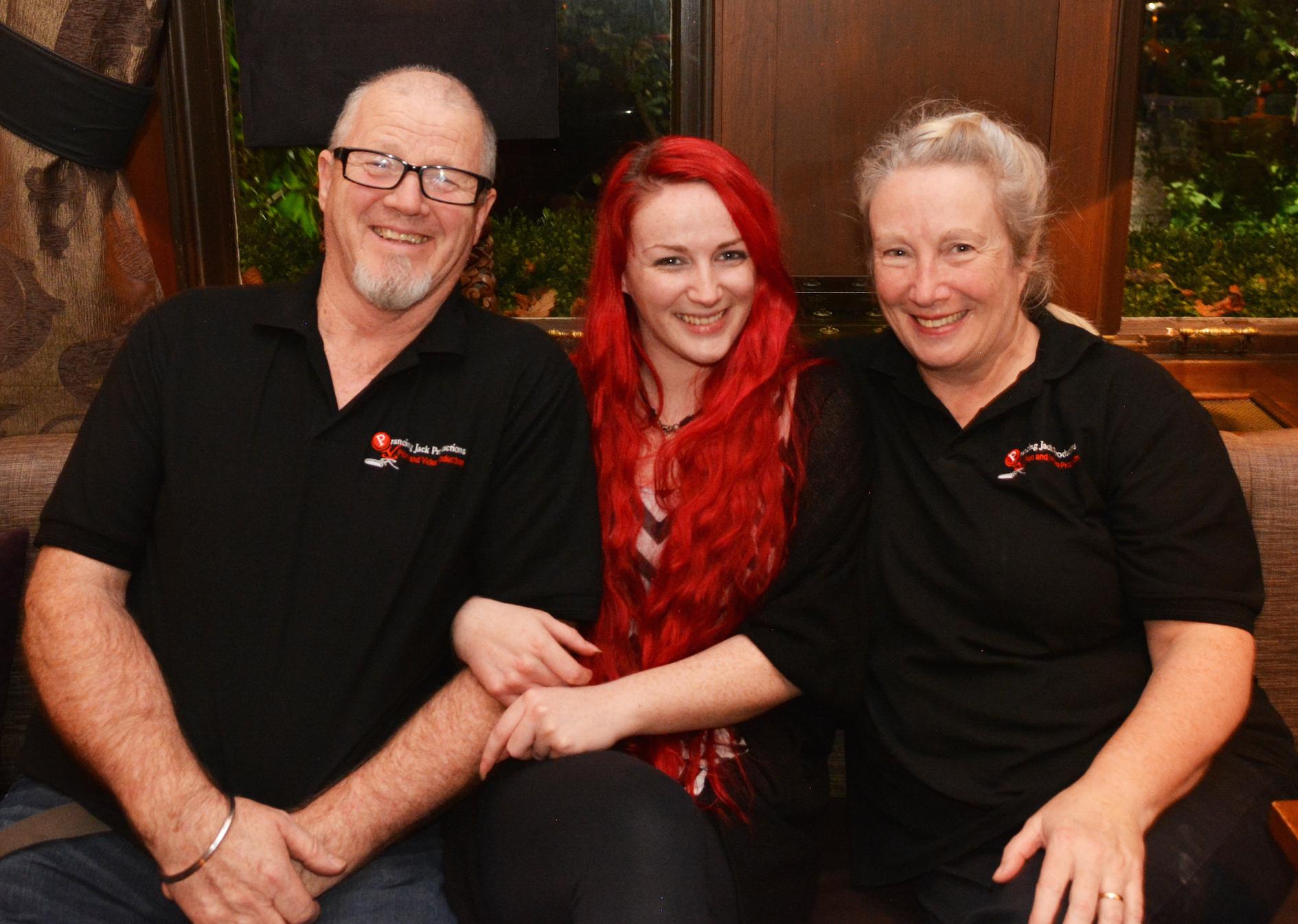 Jackson, Emma & Eileen - #teamPJP