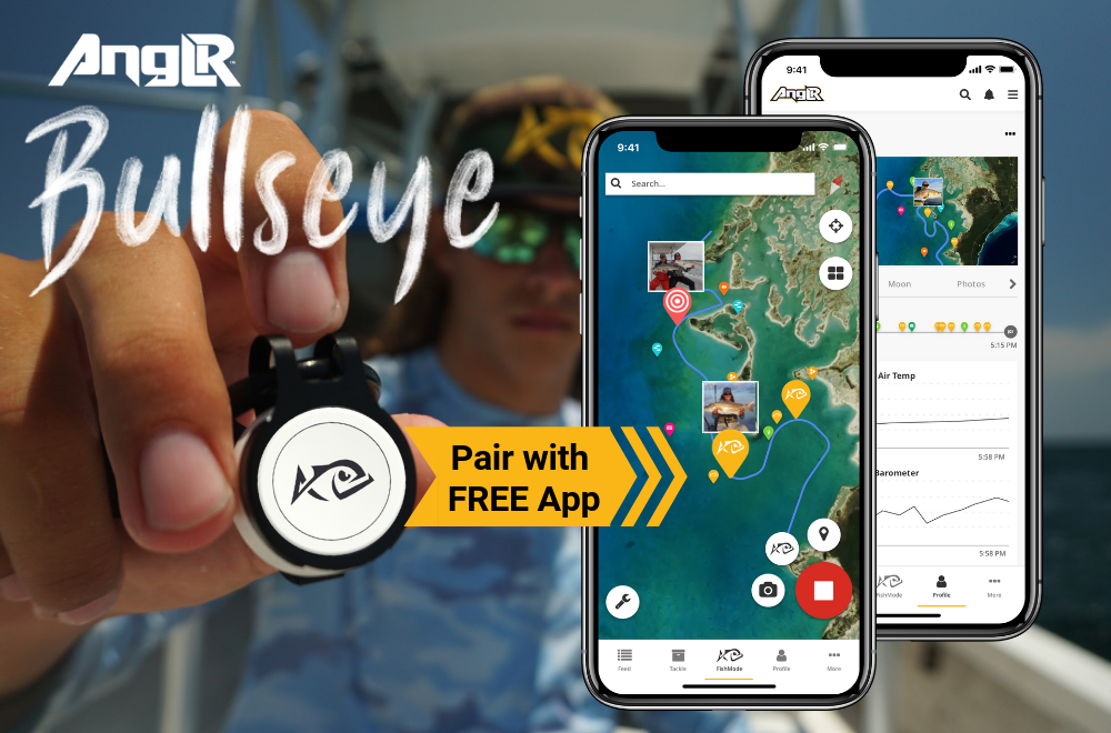 Bullseye makes it even easier to log waypoints and fish catches
