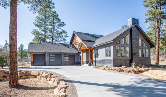 67 Engine Creek Trail - This luxurious, mountain modern home is 2775 sq. ft. situated on a large 0.50 acre lot. It has an oversized 3-car garage for additional storage with a taller 8'6″ door clearance. The large driveway allows for plenty of offstreet parking. An open living floor plan for the kitchen/ great room with its vaulted ceilings and south facing grand windows floods the space with natural...Learn More