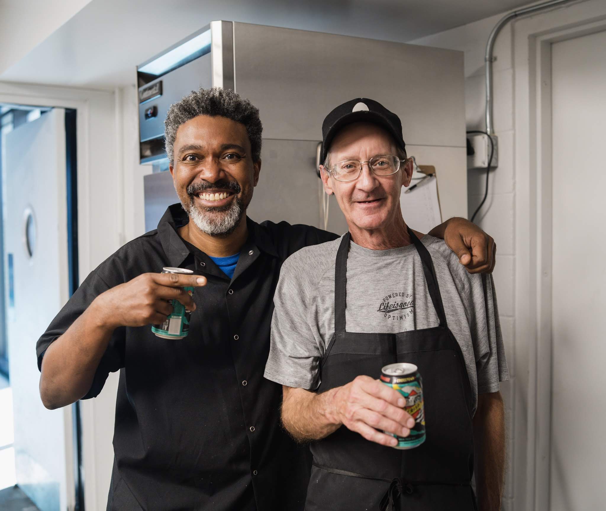 Raymond Jackson + Mark Nixon of Crosstown Arts Cafe