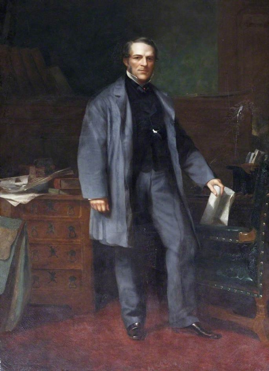 Right Honourable W. N. Massey, MP for Tiverton (1872–1880)