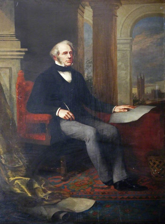 Henry John Temple (1784–1865), 3rd Viscount Palmerston, KG, GCB, PC, Prime Minister (1855–1858 & 1859–1865)