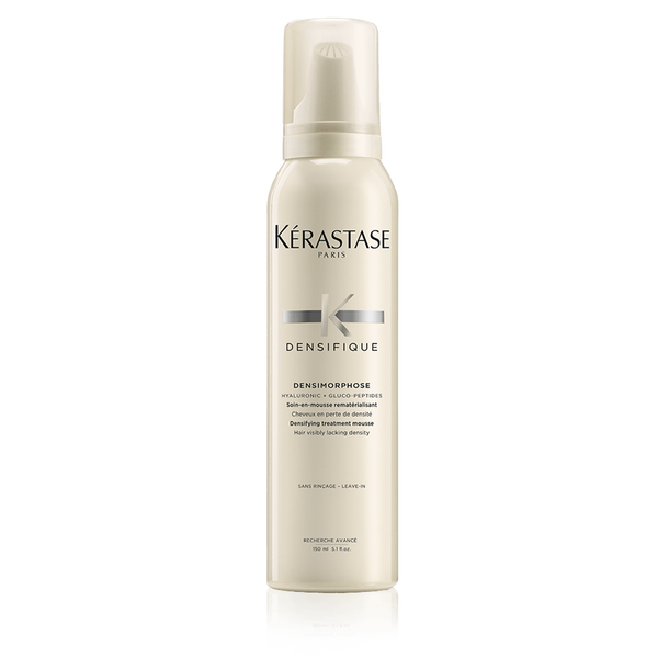 "Densimorphose - ""I have naturally fine hair. With this mousse I am able to create a hairstyle with body and texture."""