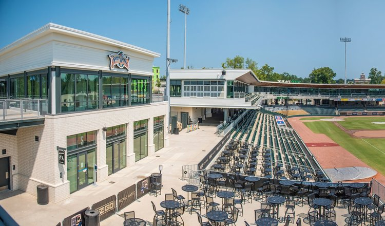 Main Concourse - Large open-air space overlooking SRP ParkGreat space for large eventsAccess to restrooms and concessions