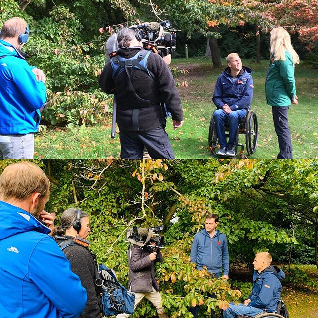 A very autumnal Countryfile shoot at Thorp Perrow looking into the how's and why's different trees go different colours this time of year... There is more art and science behind it than you may think!