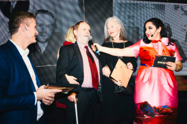Ledde prisgalan Storytel Awards april 2019.