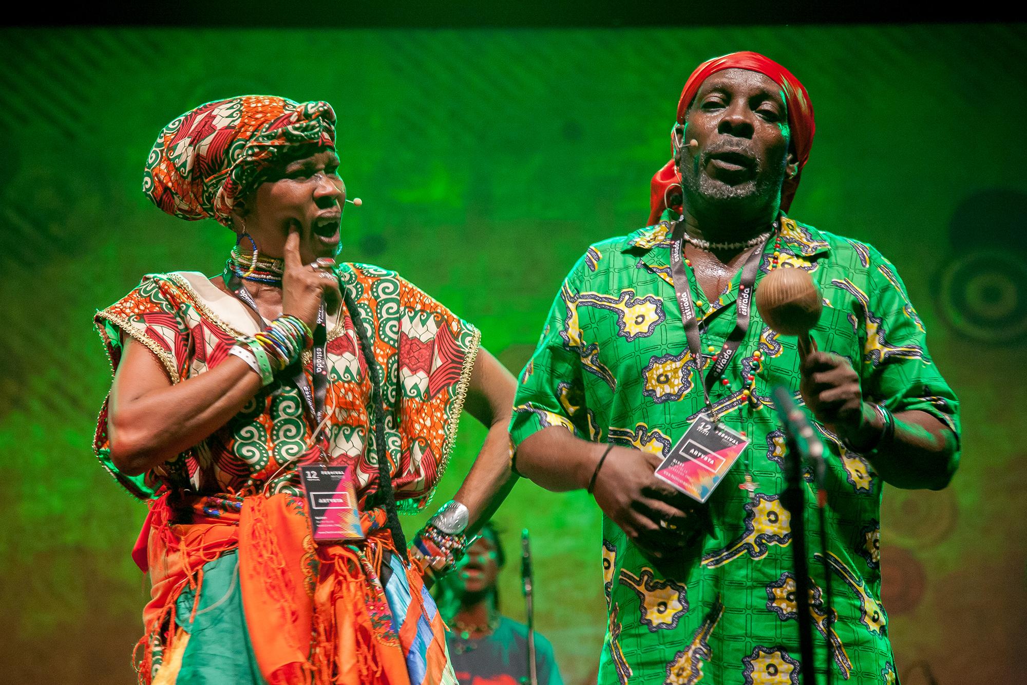 """Chouk Bwa Libète (Гаїті) на """"Перехресті культур"""" 2016"""