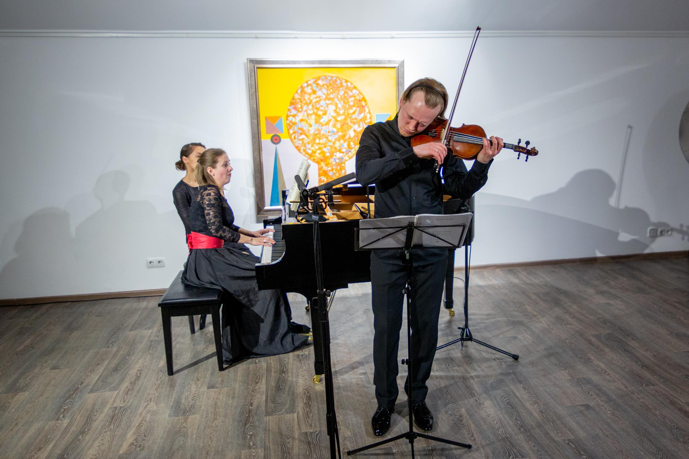 Андрій Павлов і Валерія Шульга з концертом у Домі  Майстер клас .