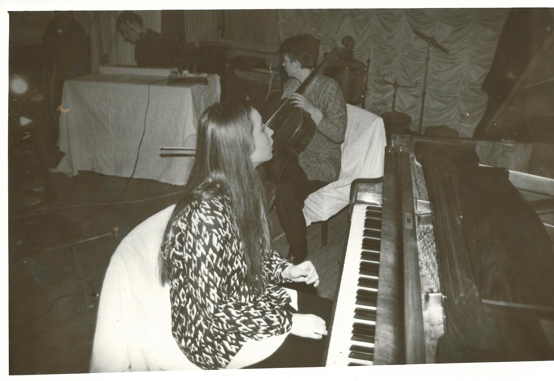 Світлана Няньо у складі групи Цукор Біла Смерть, (с) фото з архіву Сергія Мясоєдова.