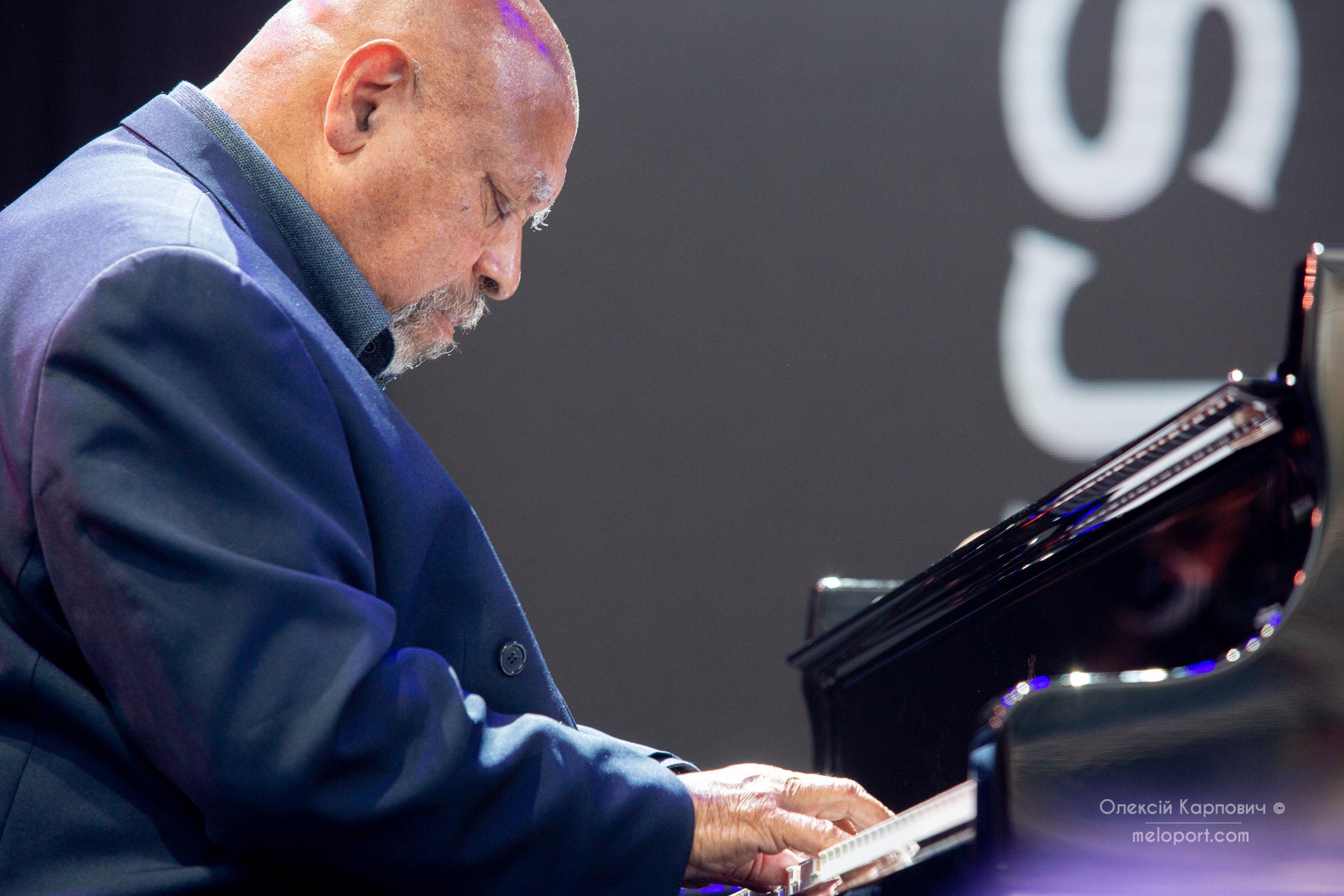 Кенні Баррон під час виступу на Leopolis Jazz Festival 2019