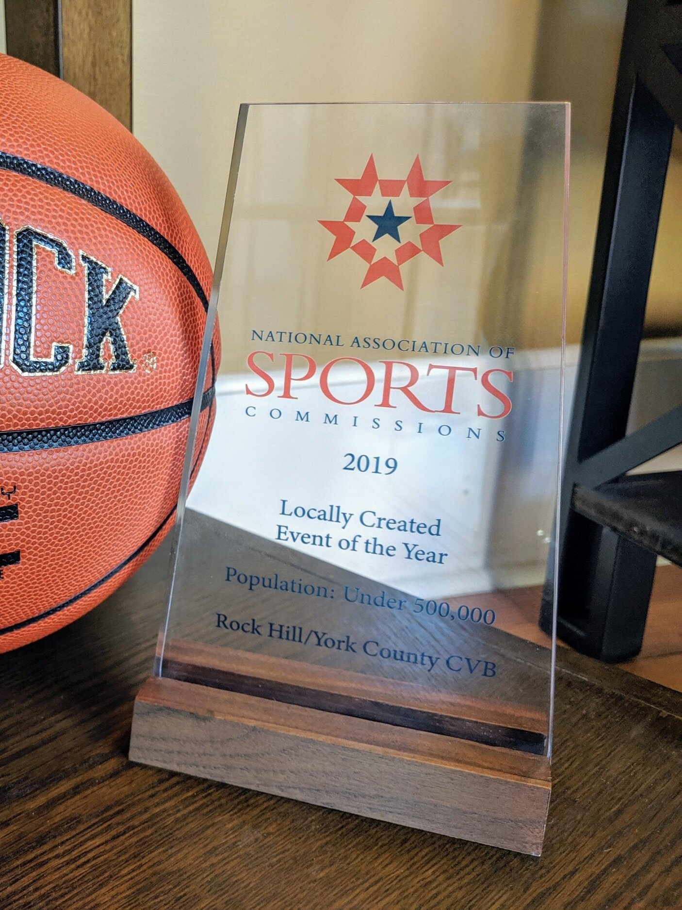 Battle At The Rock - Visit York County first hosted 19 teams at the 2018 Battle At The Rock, presented by Phenom Hoop Report. The two-day event brought sold-out crowds at Nation Ford High School. The National Association of Sports Commission even awarded VIsit York County with the the 2019 Locally Created Event of the Year. Visit York County plans to make Battle At the Rock an annual showcase highlighting some of the best high school basketball across the country.