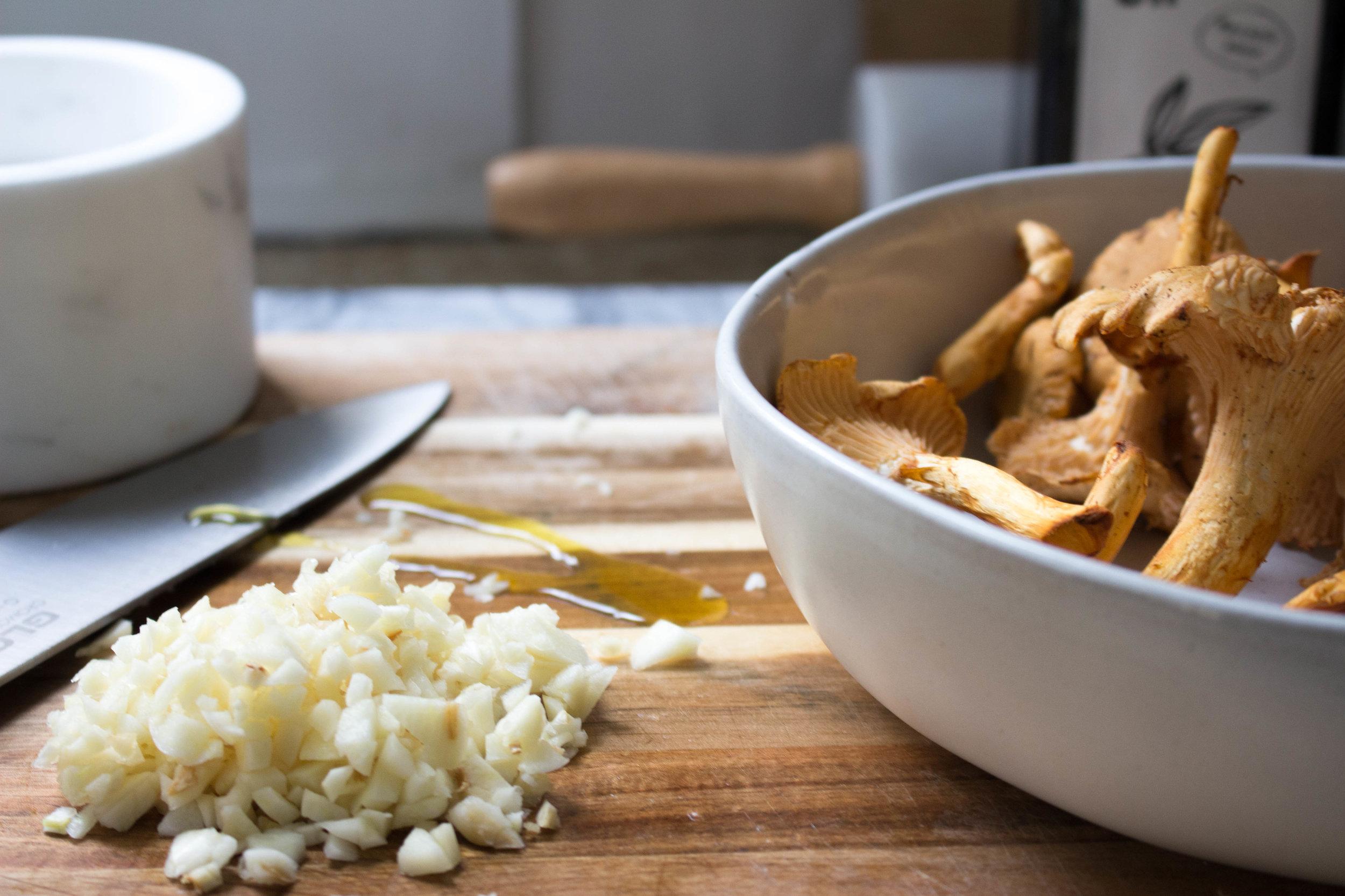 Roasted Chanterelles recipe