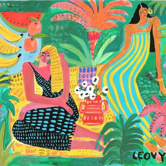 Garden Of Colors by Ana Leovy (Mexico)