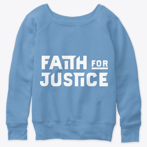 Faith for Justice (White)