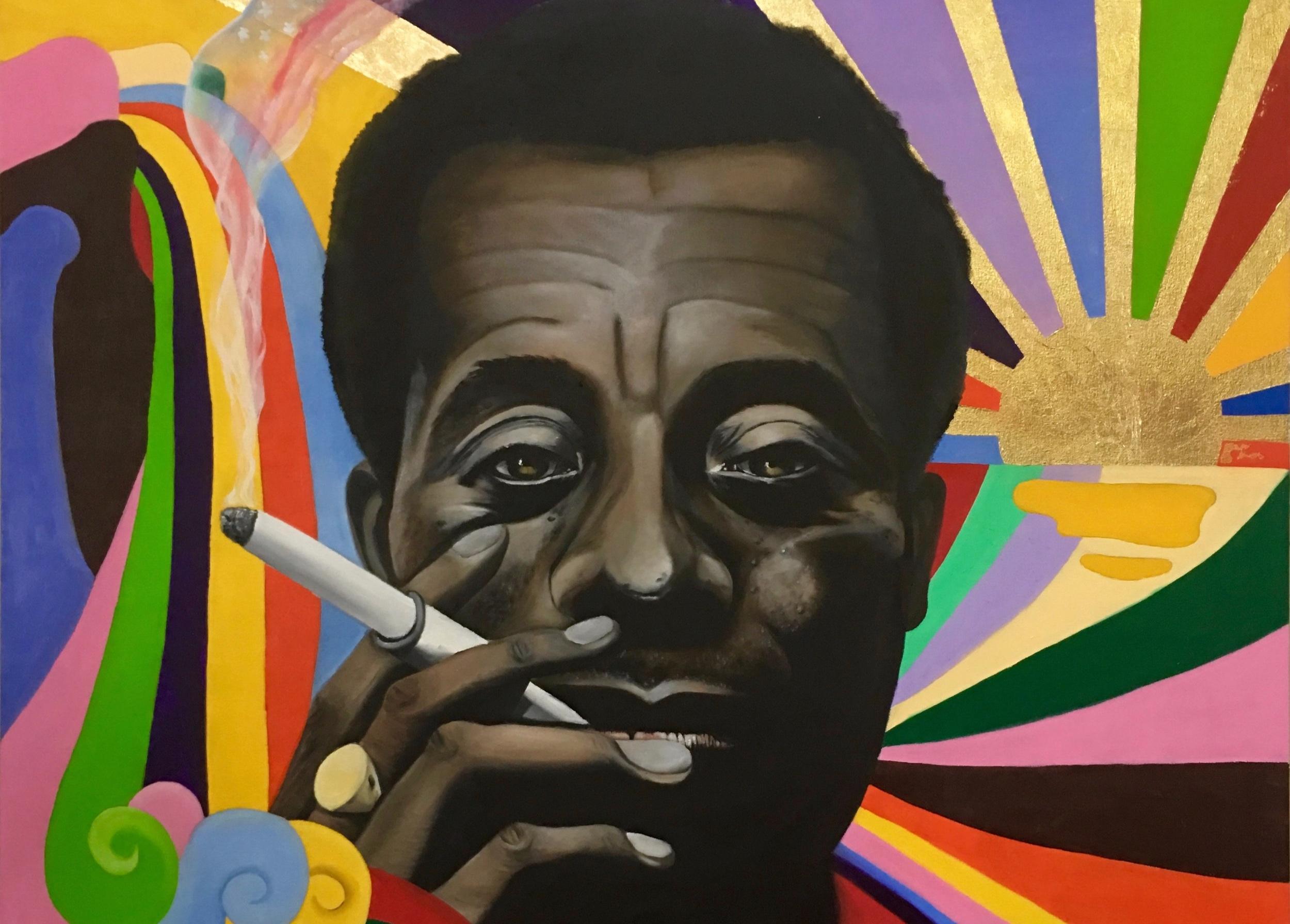 """James Baldwin"" by Samoa (http://lonelysamoans.com)"