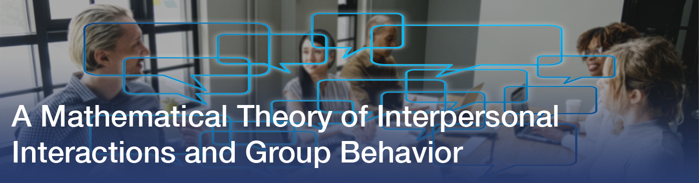 Group decision making occurs through a sequence of communications that convey personal attitudes and preferences among members of the group.
