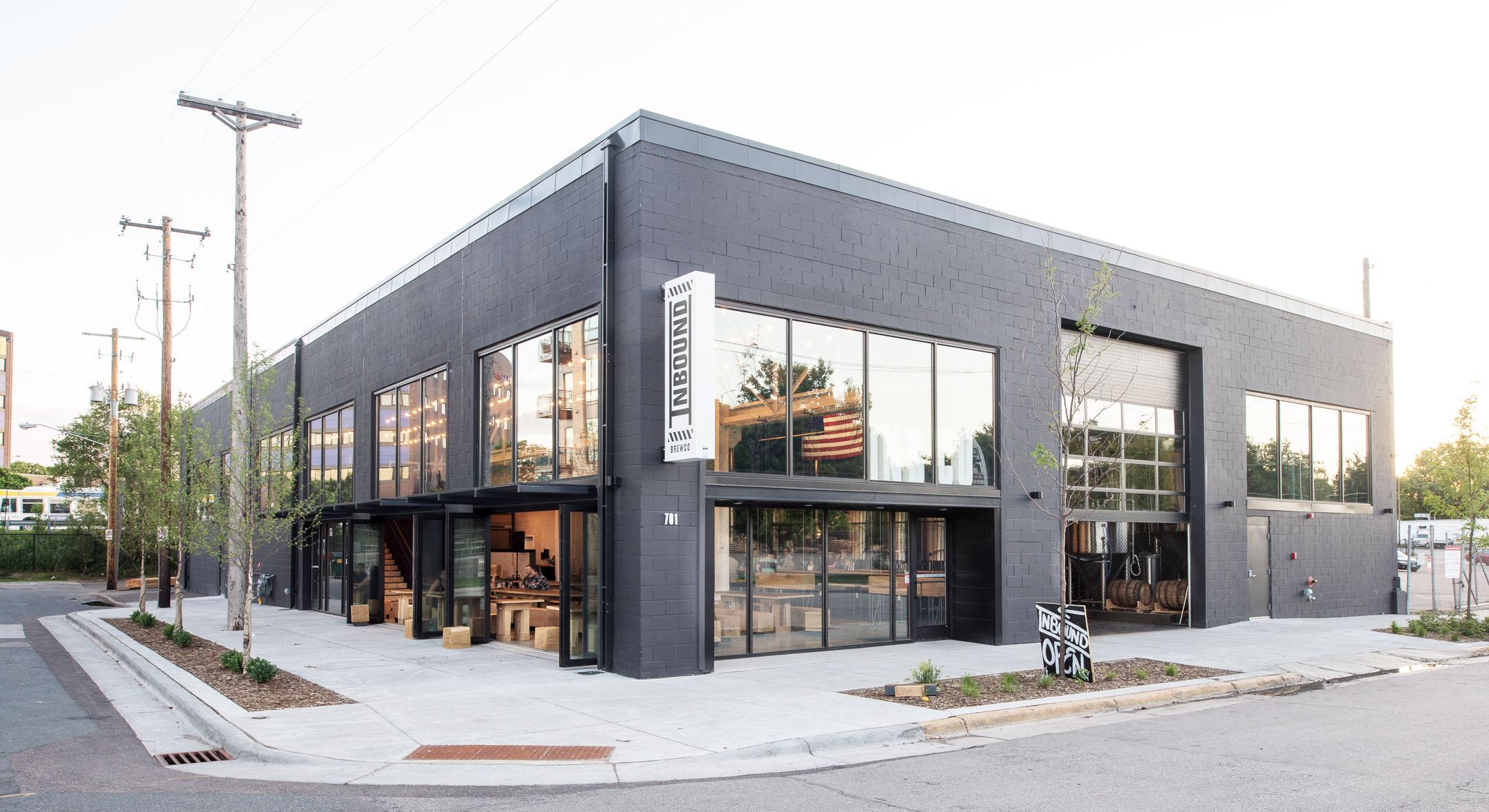 Inbound BrewCo modern renovation in Minneapolis by Christian Dean Architecture.