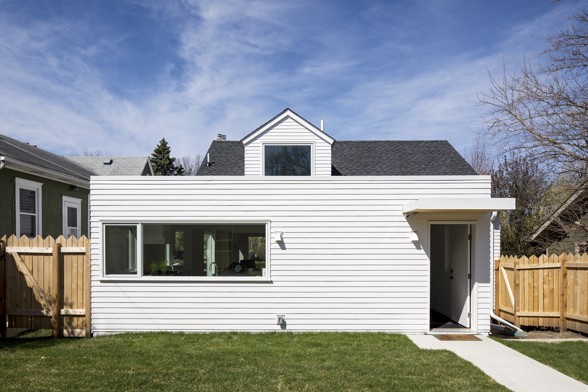 Small modern bungalow home renovation by Christian Dean Architecture