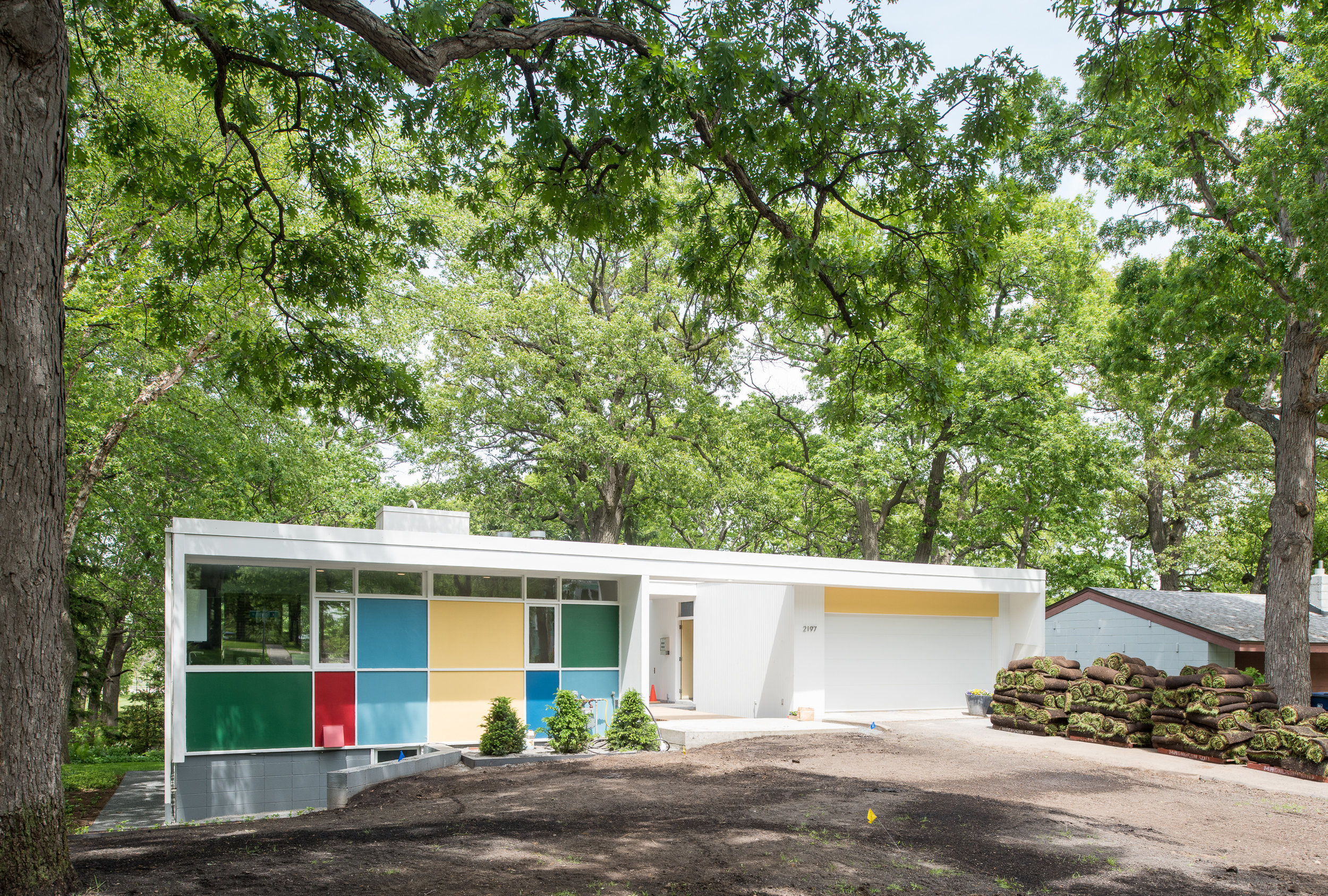 Modern renovation of a Ralph Rapson designed home in Minneapolis by Christian Dean Architecture